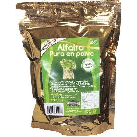 Alfalfa Pura en Polvo Saweya 500 gr.