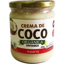Crema de Coco Orgánica Vizana 430 gr.