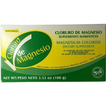 Cloruro de Magnesio en Polvo Química Coyoacán 100 gr.