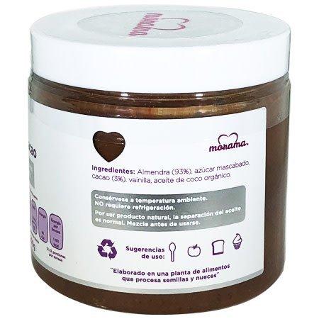 Crema de Almendra con Cacao Morama 200 gr.