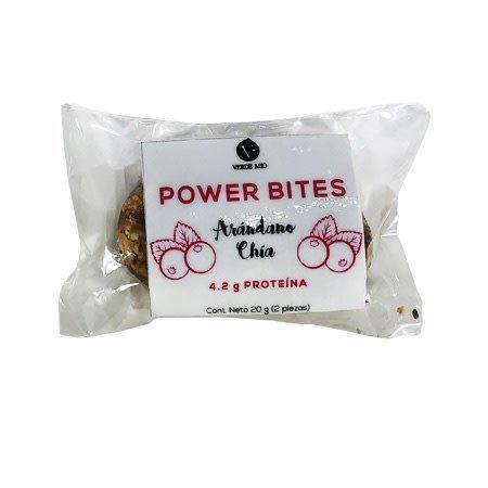 Power Bites Arándano + Chia 2 pz.