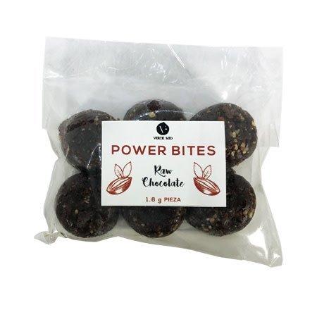 Power Bites Raw Chocolte 6 pz.