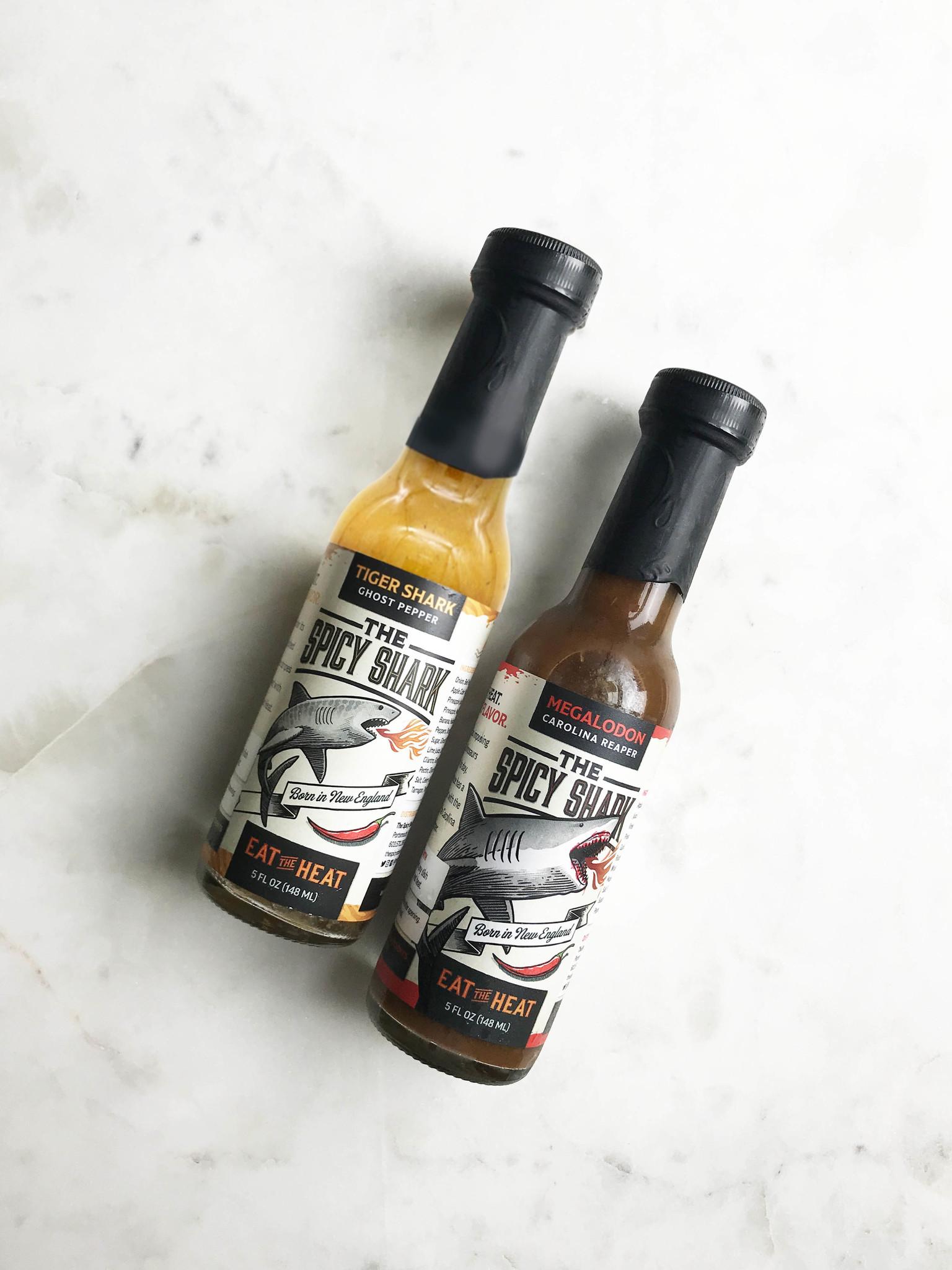 Spicy Shark Hot Sauces-2