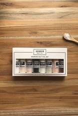 Jacobsen Salt Co Jacobsen Salt Company SOURCED 8 Vial Salt Kit Set