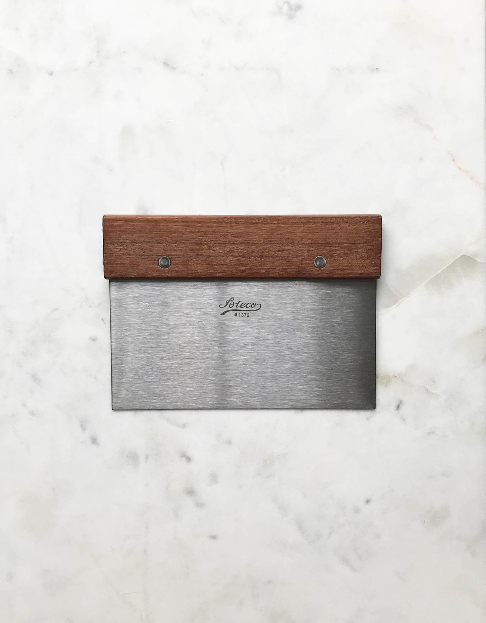 Ateco Ateco Wood & Stainless Bench Scraper