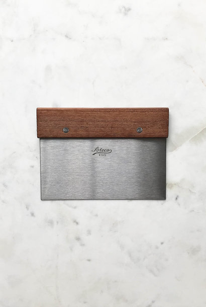 Ateco Wood & Stainless Bench Scraper