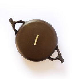 "Nest Homeware Nest Homeware Cast Iron 12"" Braising Pan with Lid"