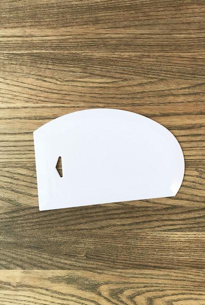 Ateco Large Plastic Bowl Scraper