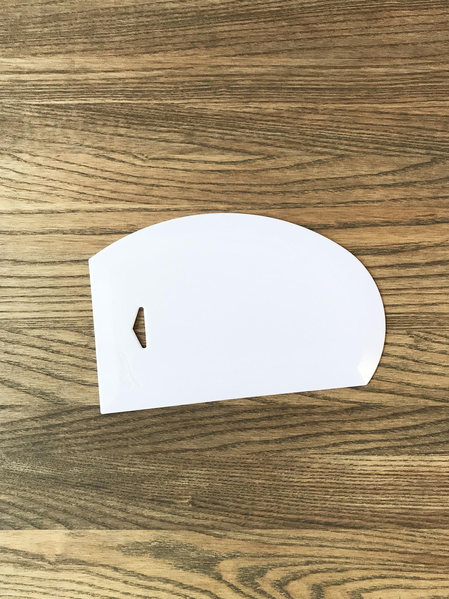 Ateco Large Plastic Bowl Scraper-1
