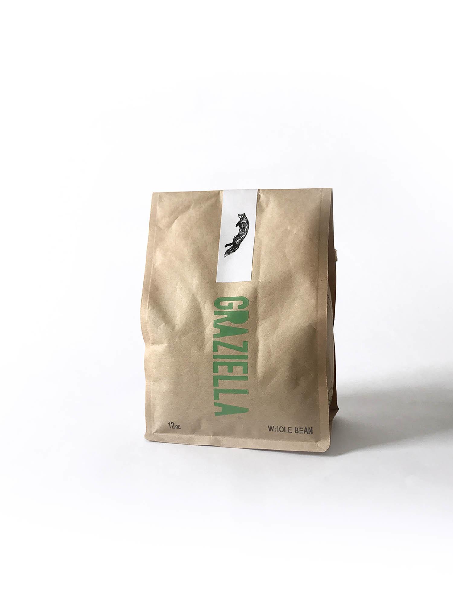 Graziella Whole Bean Coffee 12 oz-2