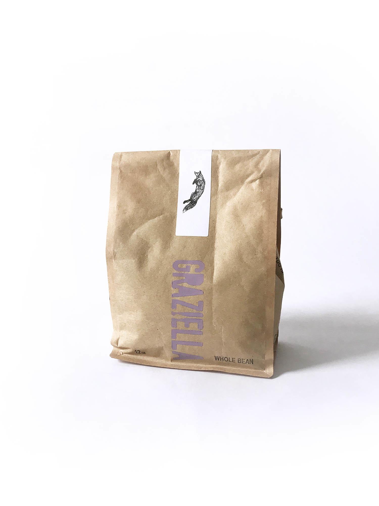 Graziella Whole Bean Coffee 12 oz-1