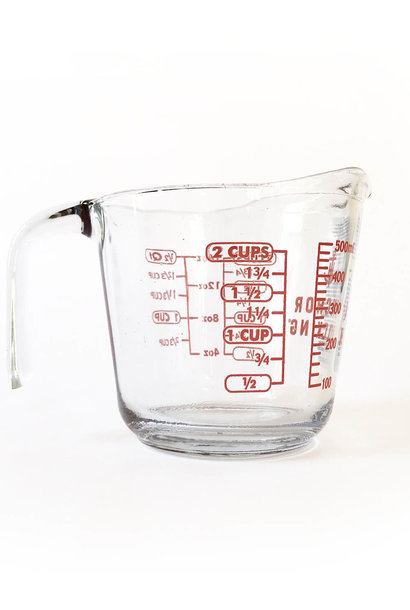 Anchor Measuring Jug Glass, 2 Cup