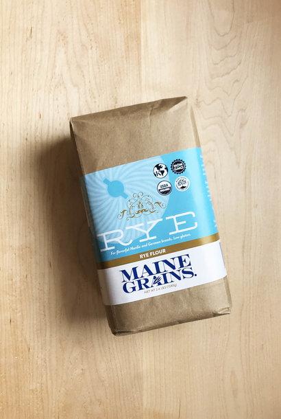 Maine Grains Rye Flour, 2.4 lbs