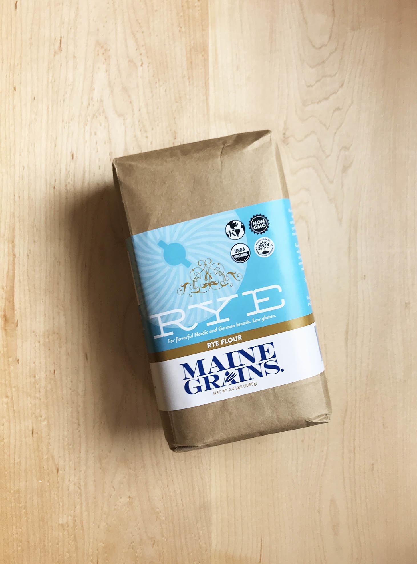 Maine Grains Rye Flour, 2.4 lbs-1