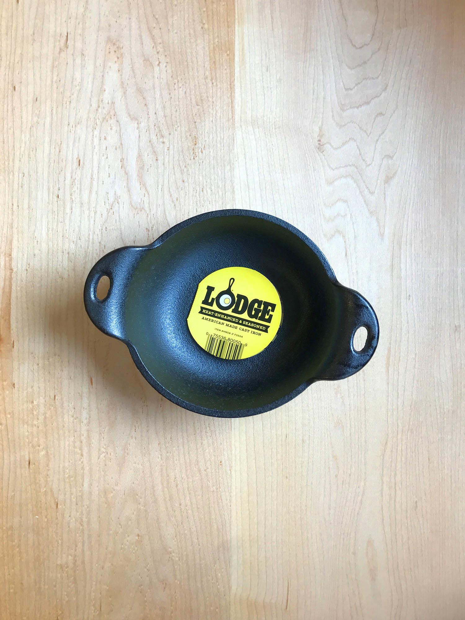 Lodge Cast Iron Mini Serving Bowl-1