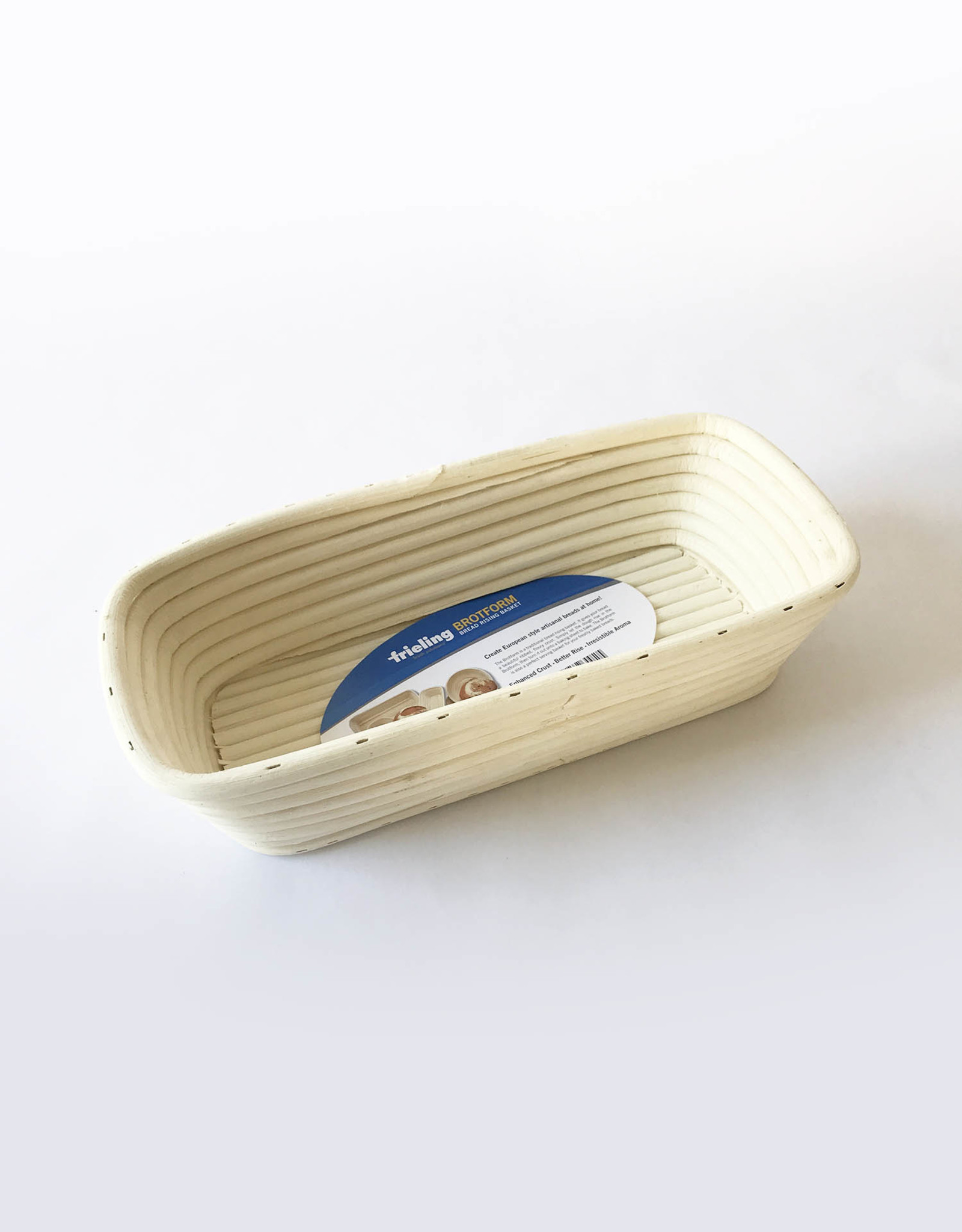 Frieling Frieling Brotform rectangular proofing basket 12 x 5 1/2""