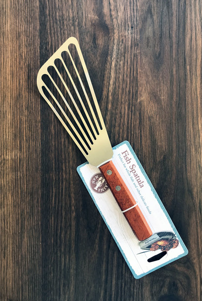 Fish Spatula with Slotted Angled Blade