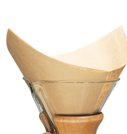Chemex Chemex Filter Square Unbleached 100 Prefolded