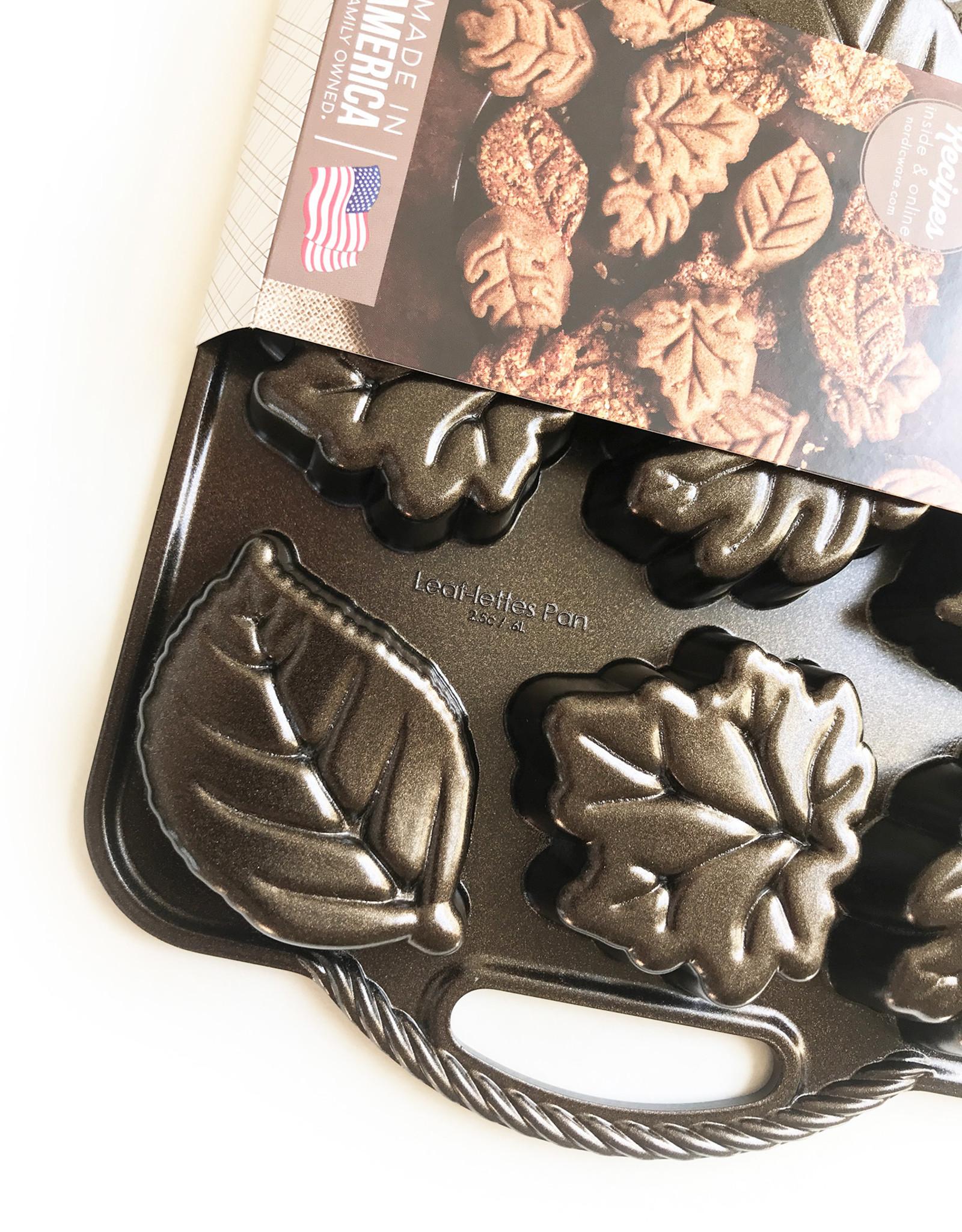 Nordicware Nordic Ware Leaflettes Pan Bronze