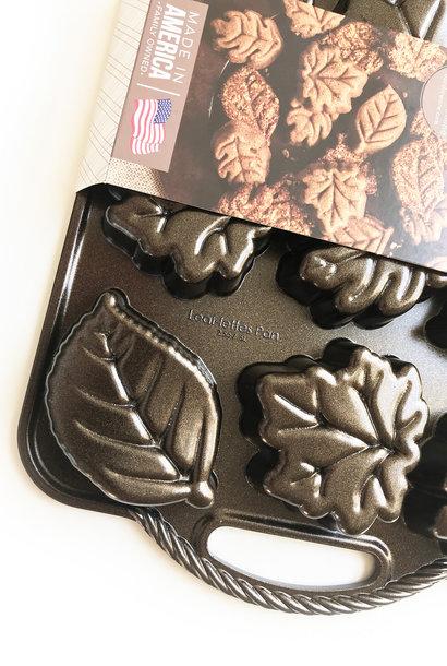 Nordic Ware Leaflettes Pan Bronze