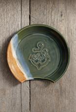 Nasseramics RI Made Ceramic Spoon Rest