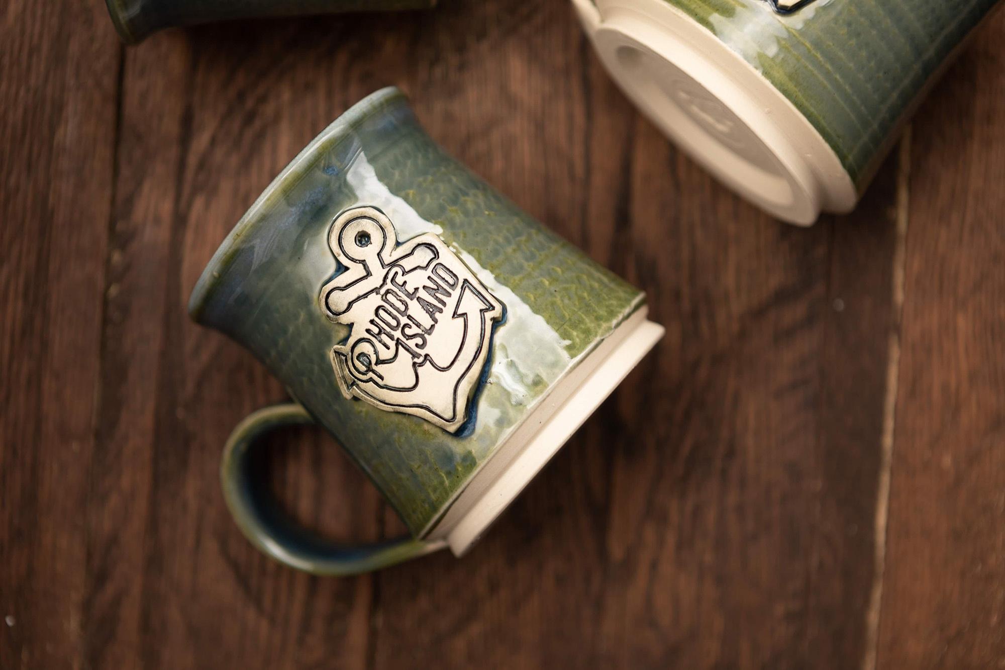 NasserCeramics RI Made Stoneware Mug-1