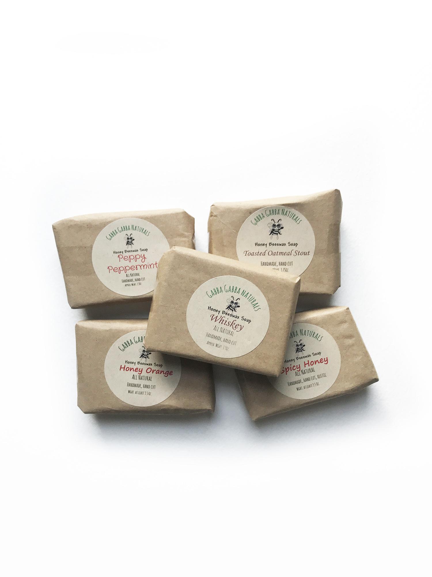 Gabba Gabba Naturals Soap 3.5 oz-1
