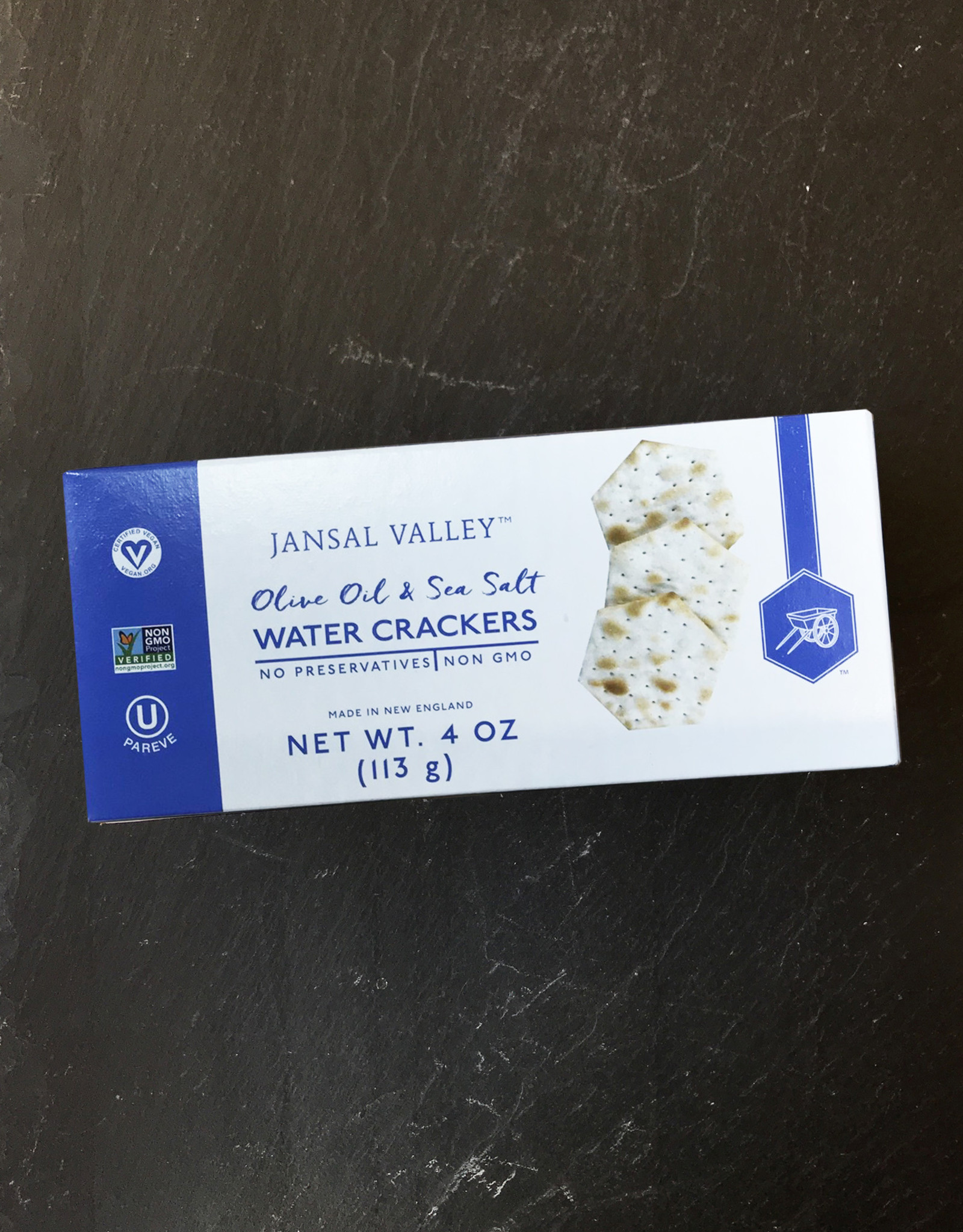 Sid Wainer Jansal Valley Olive Oil and Salt Water Crackers
