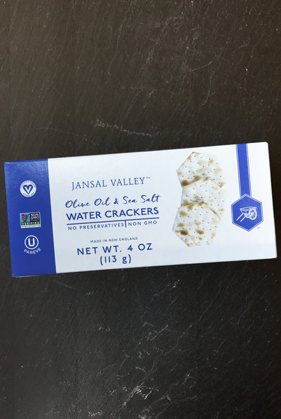 Jansal Valley Olive Oil and Salt Water Crackers