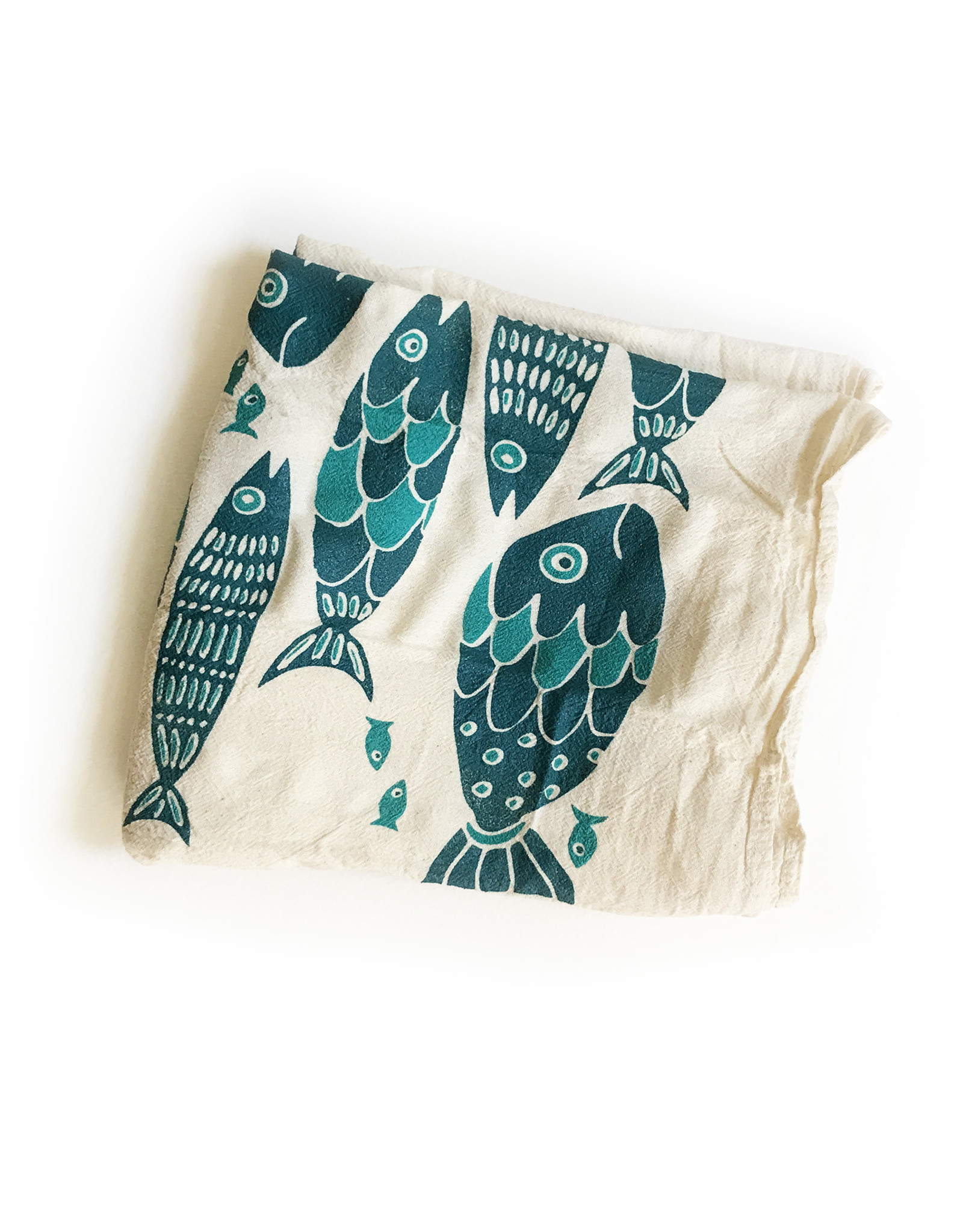 Noon Noon Flour Sack Tea Towels