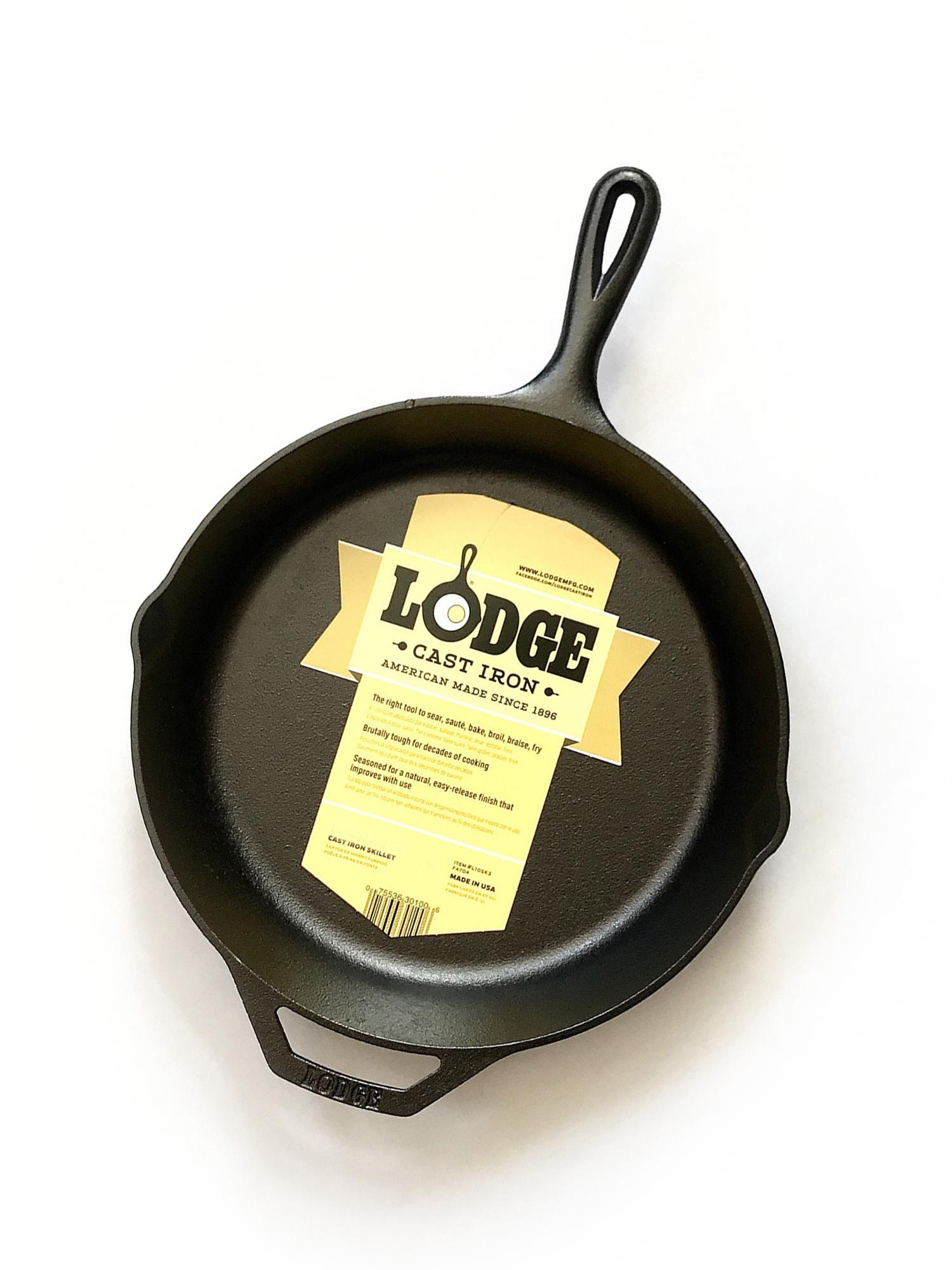 Lodge Cast Iron Skillets-3