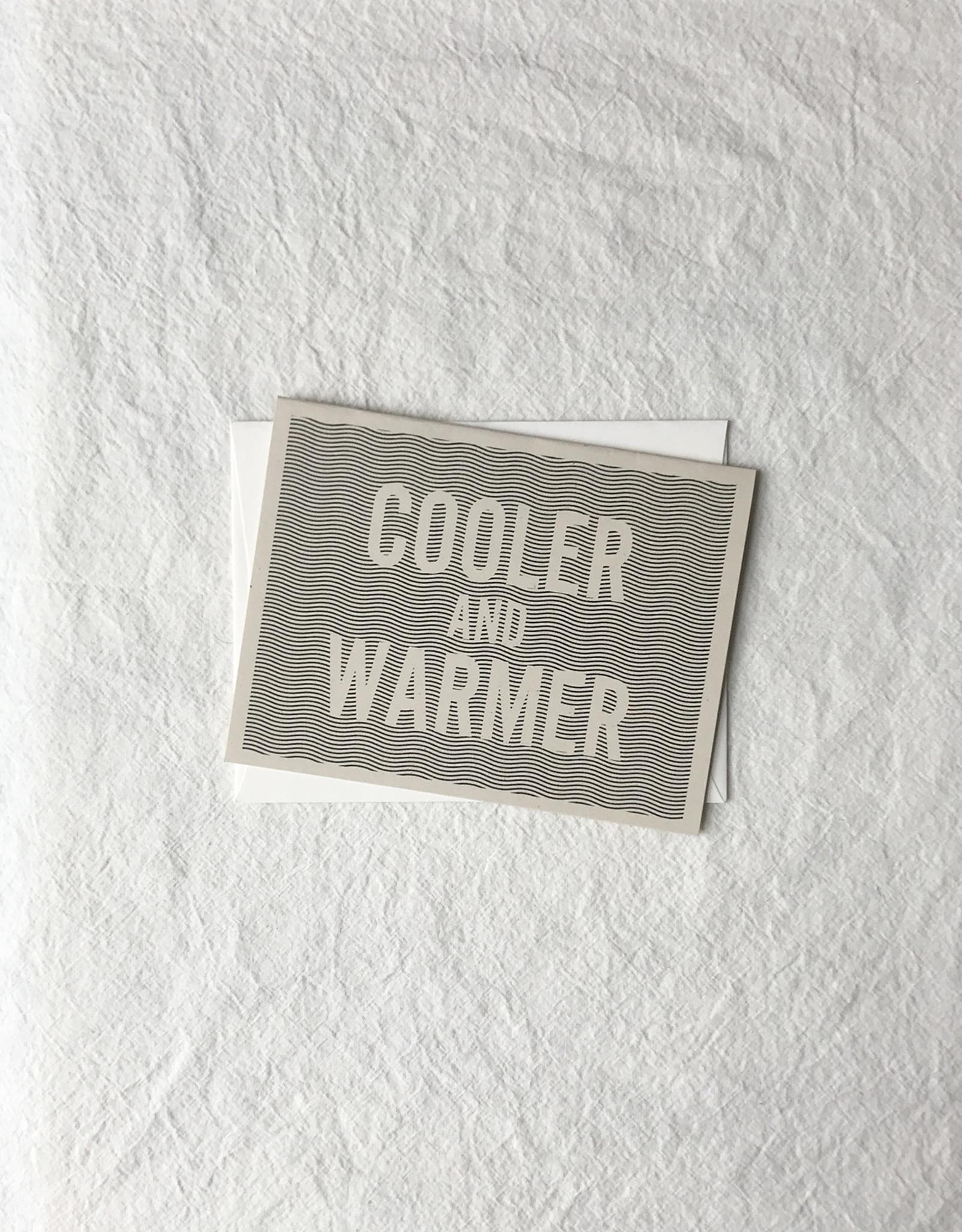 Mau-House Cooler and Warmer RI Card