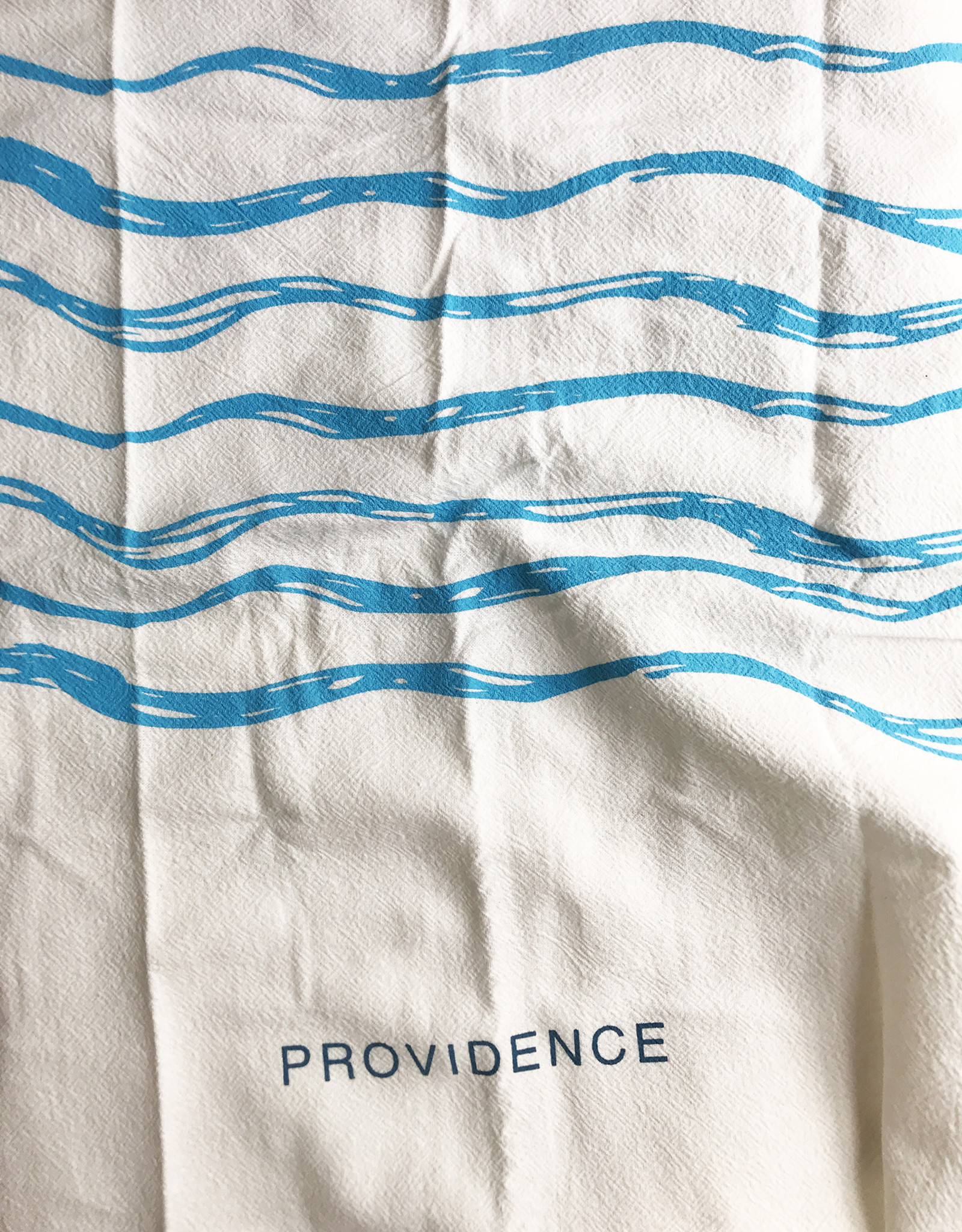 Stock Providence Rhode Island Made in RI Ocean State Flour Sack Tea Towels