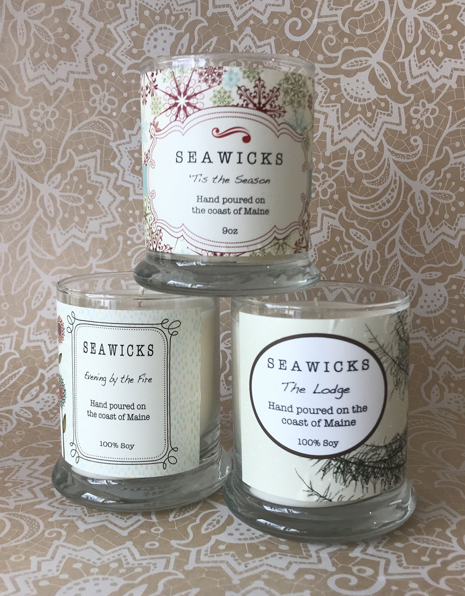 Seawicks Candle Company Seawicks Candle Company 100% Soy Candles