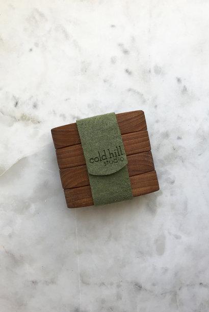 Cold Hill Studio Wooden Napkin Rings