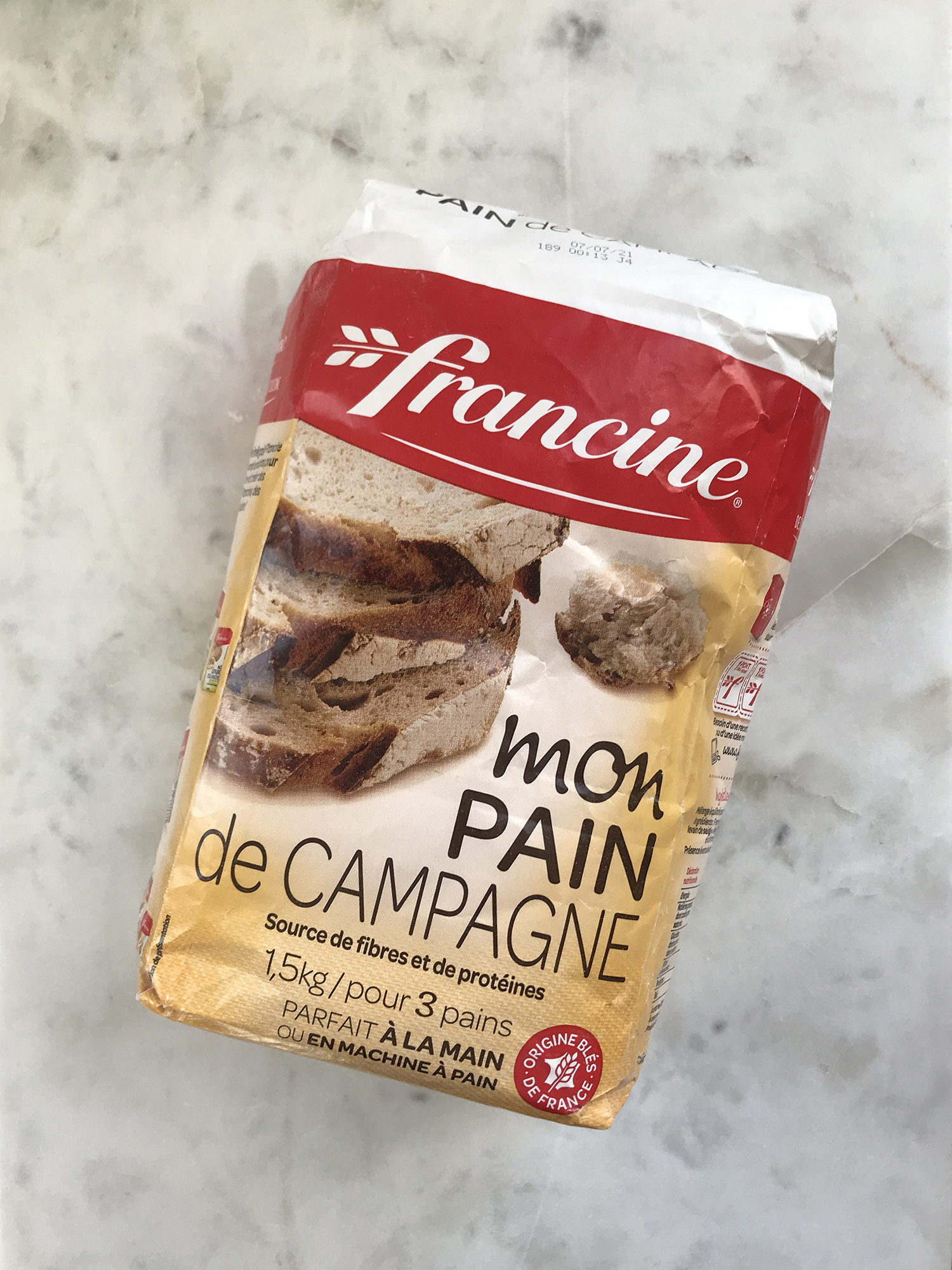 Francine Flour for Country Bread, 3.3 lbs.-1