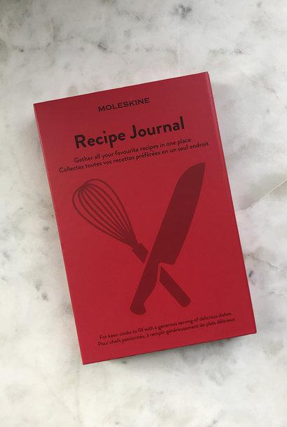 Moleskine Passion Recipe Journal Red