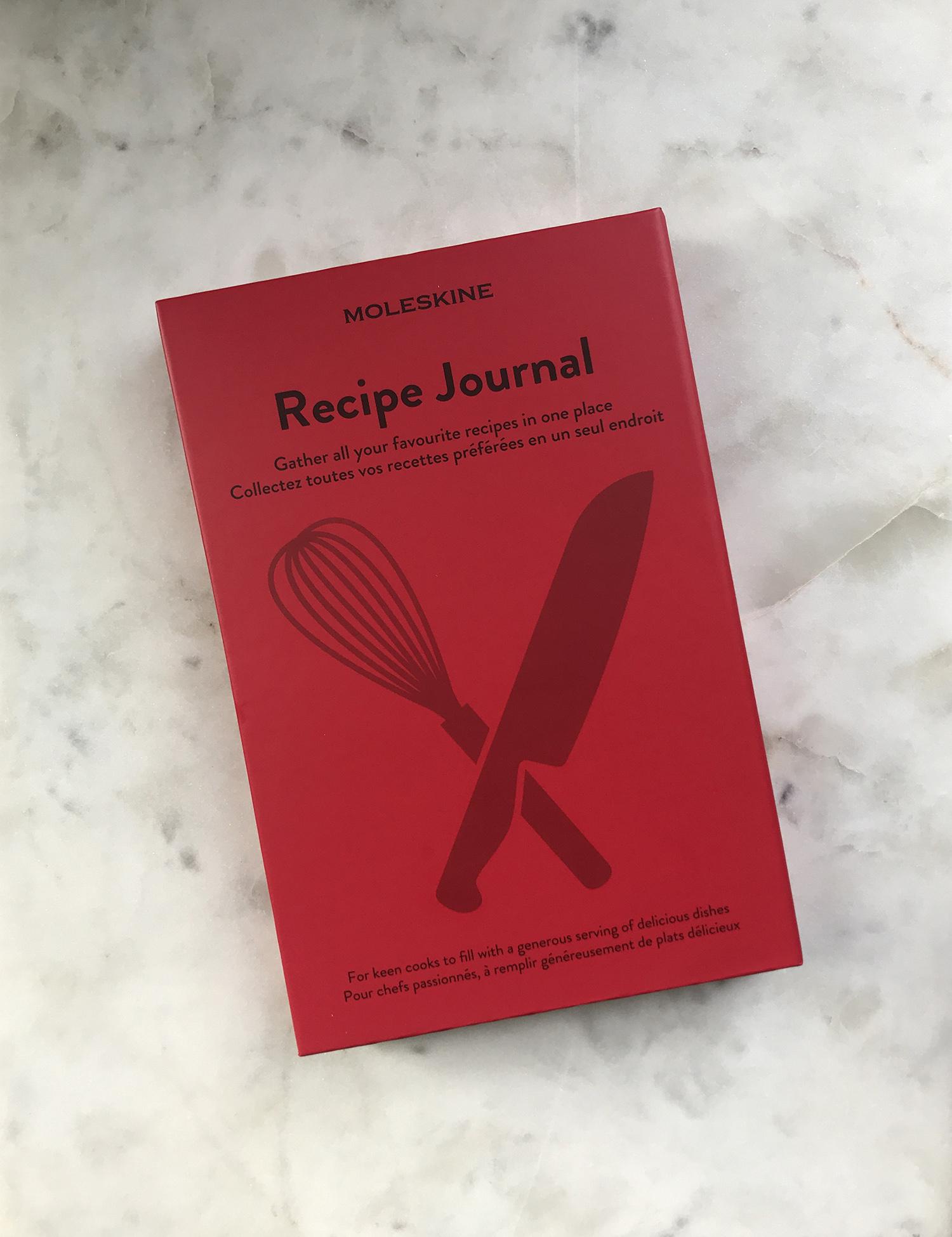 Moleskine Passion Recipe Journal Red-1
