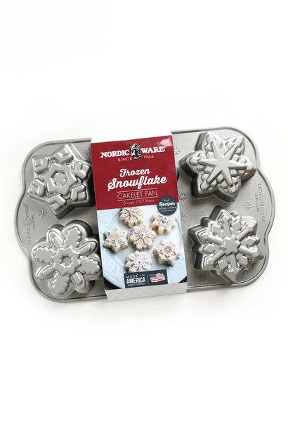 Nordic Ware Frozen Snowflake Cakelet Bundt Pan
