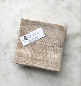 Hearth & Harrow Hearth and Harrow Tree Ring Napkins,  Set of 4