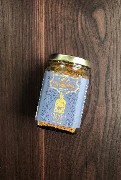 Curio Spice Co. Golden Milk, 4.5 oz. Jar