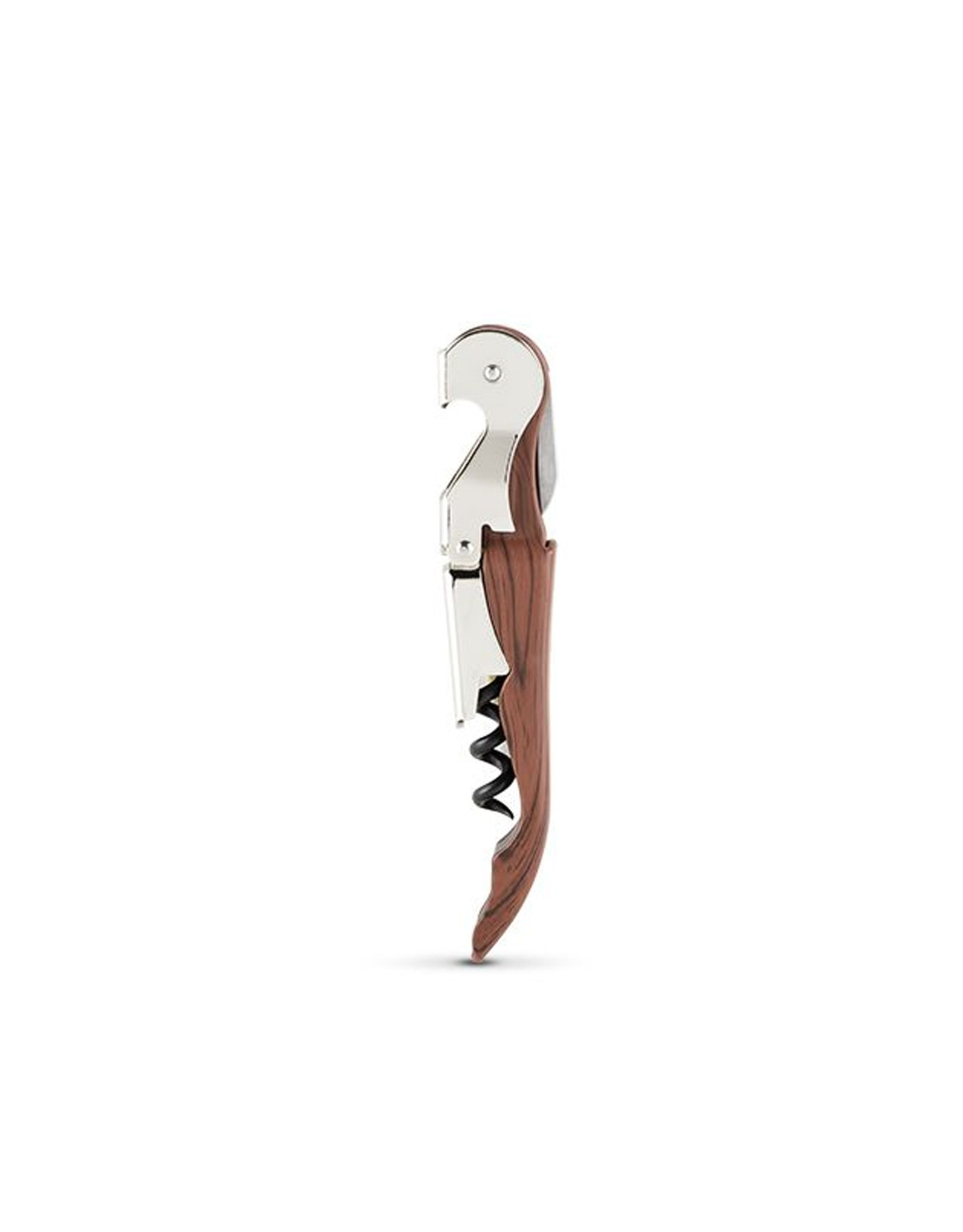True Brands TrueTap Riveted Double Hinged Corkscrew - Wood