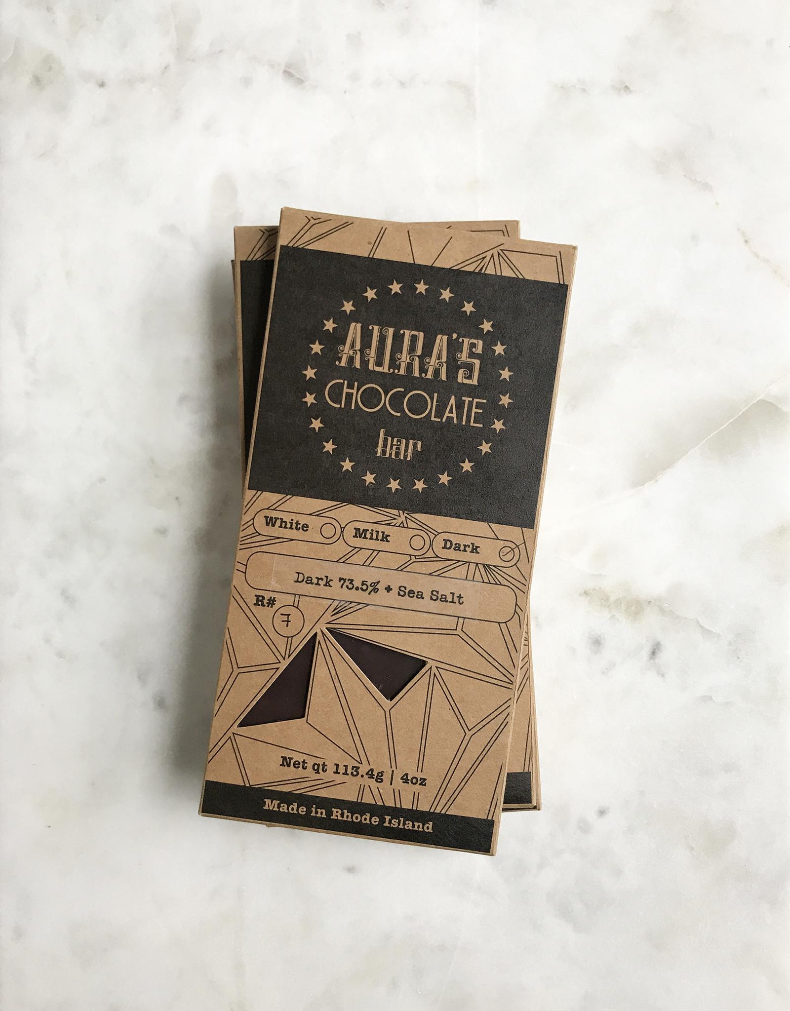Aura Chocolate Aura's Chocolate Bar, 4oz.