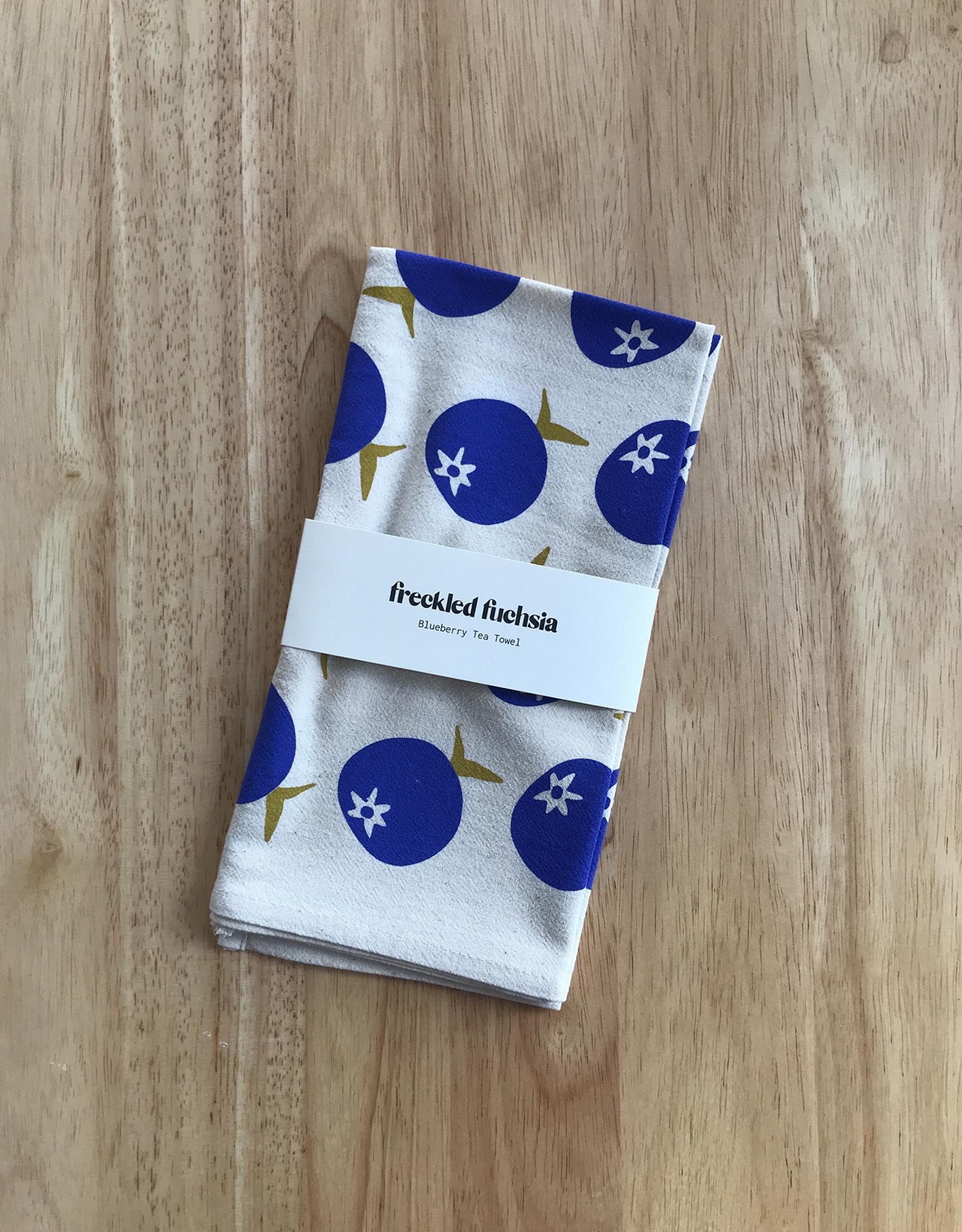 Freckled Fuchsia Tea Towels