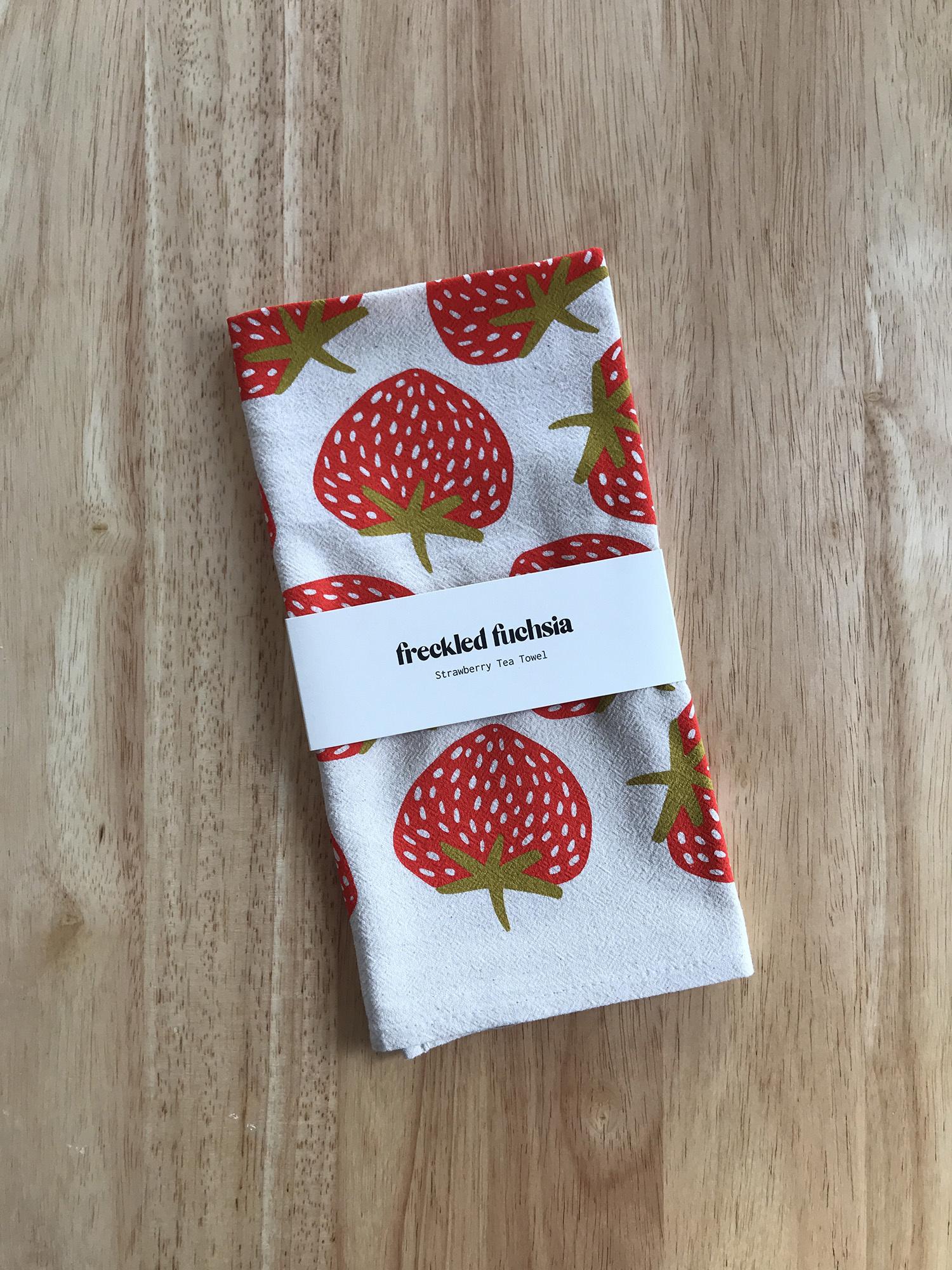 Freckled Fuchsia Tea Towels-8
