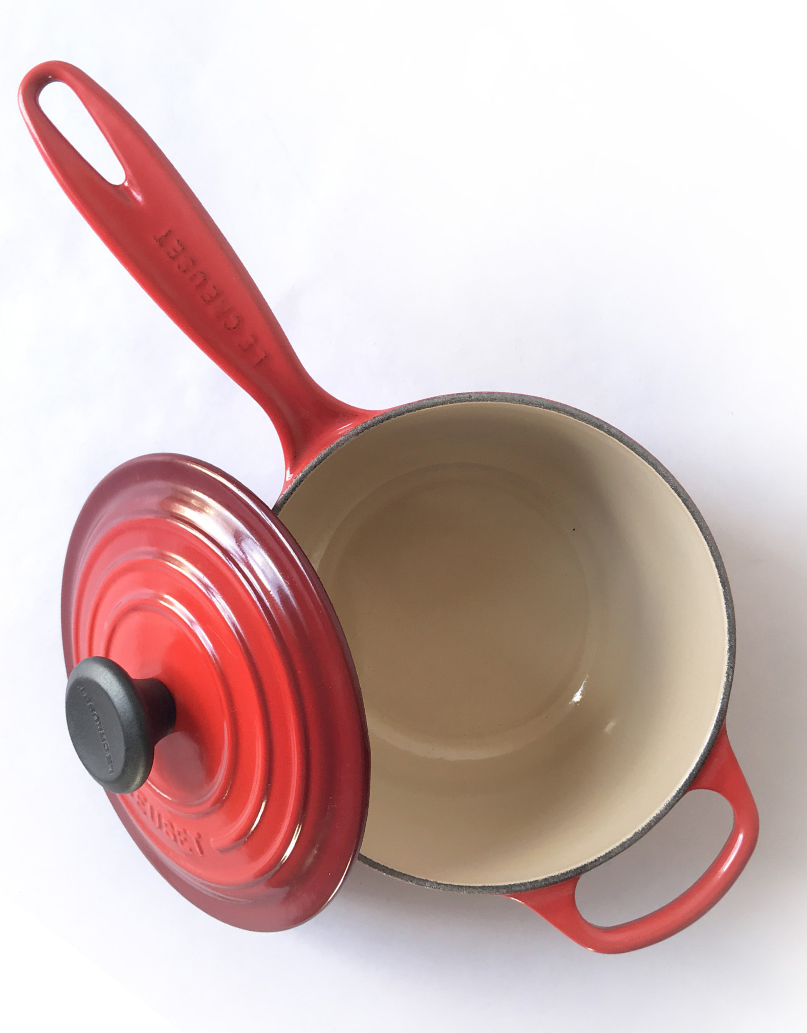 Le Creuset Le Creuset Enameled Cast Iron Handled Sauce Pan, 2.25 qt.