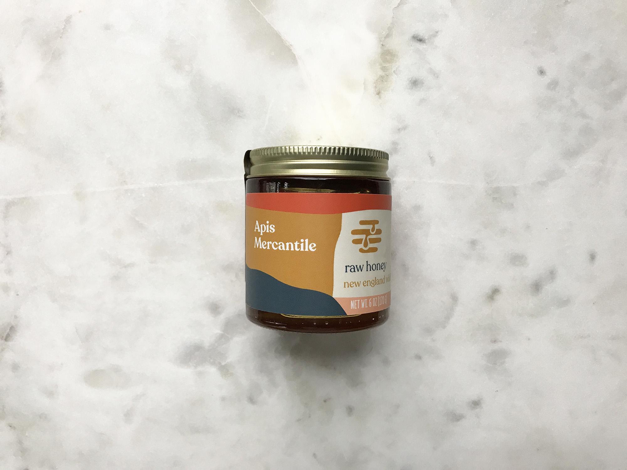 Apis Mercantile Raw New England Honey-2