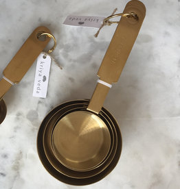 Kriya Veda Gold Measuring Cups, Set of 4