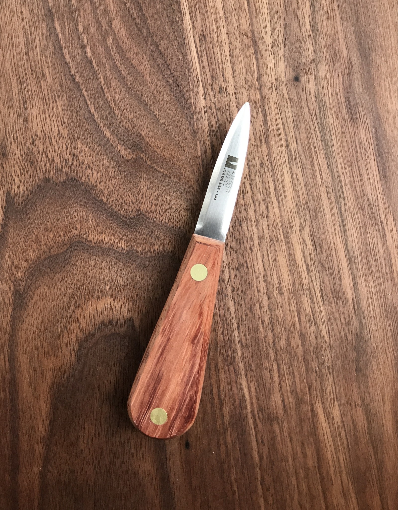 R. Murphy R Murphy Wellfleet Oyster Knife with  Rosewood Handle