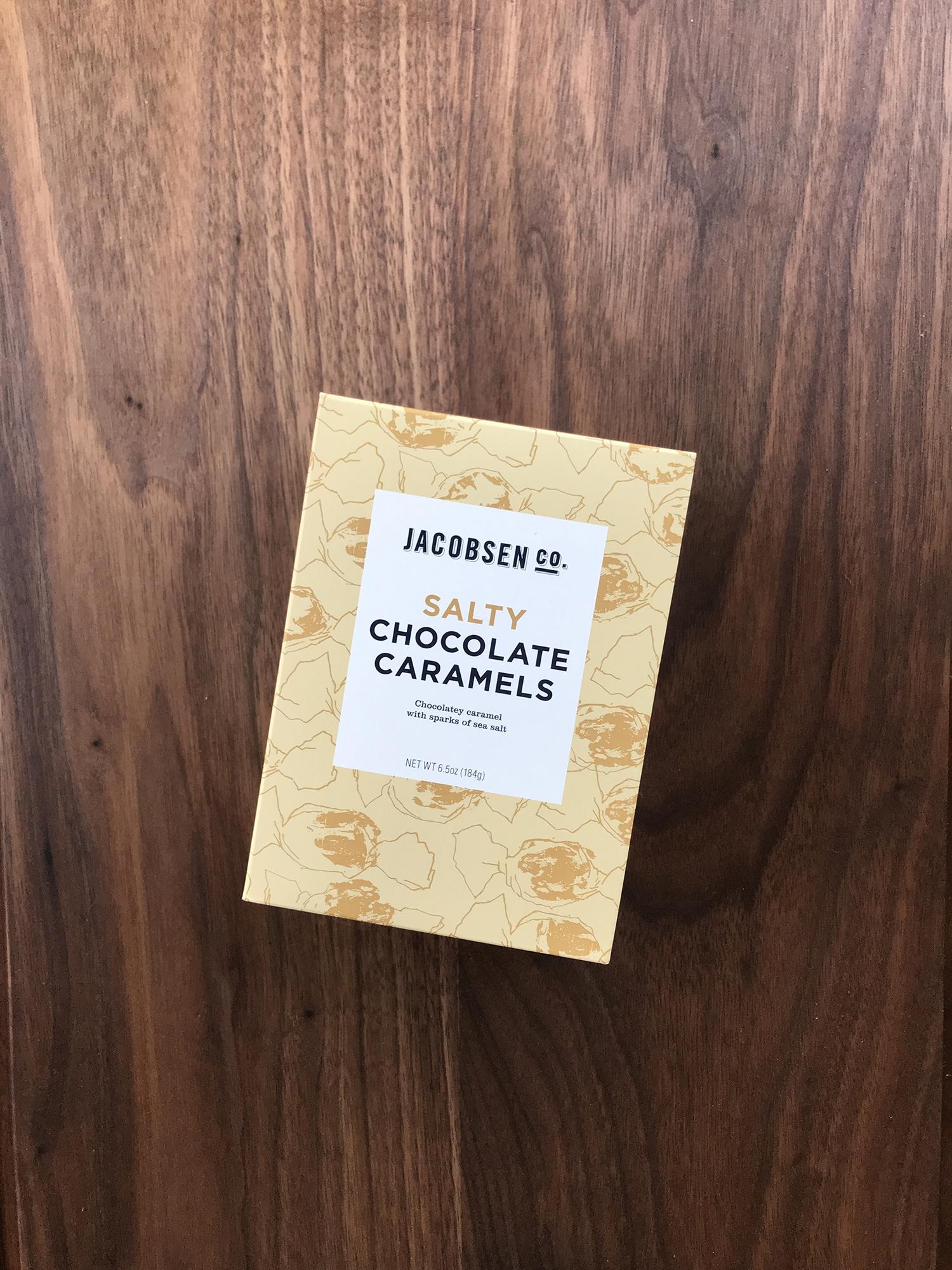 Jacobsen Salty Chocolate Caramels, 6.5 oz.-1